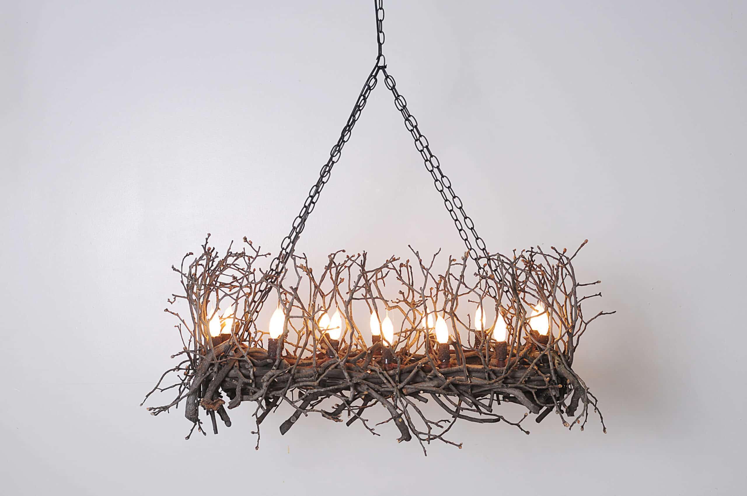 Branchelier, Artisan Chandelier, Wish Designs USA